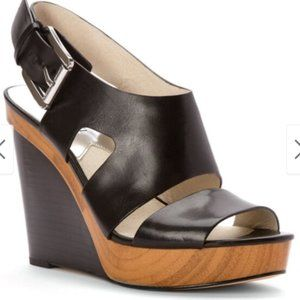 NWOT Michael Kors Carla Platform Wedge Sandals